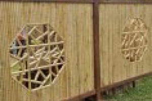 Bamboo fencing gallery