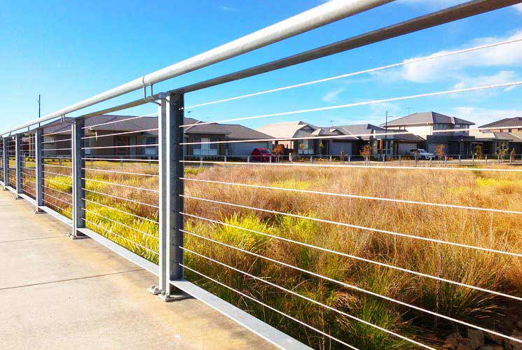 Abington NSW Boundary Fencing