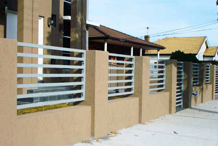 Abba River Brick Fencing