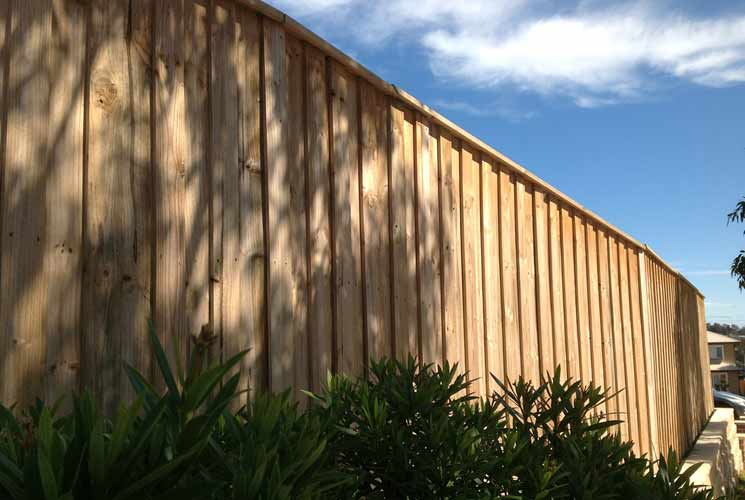 Aubigny Timber Fencing