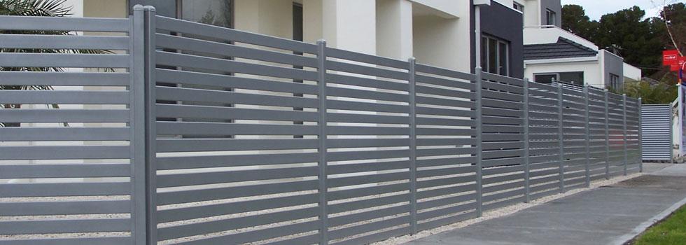 Kwikfynd Boundary fencing aluminium 15