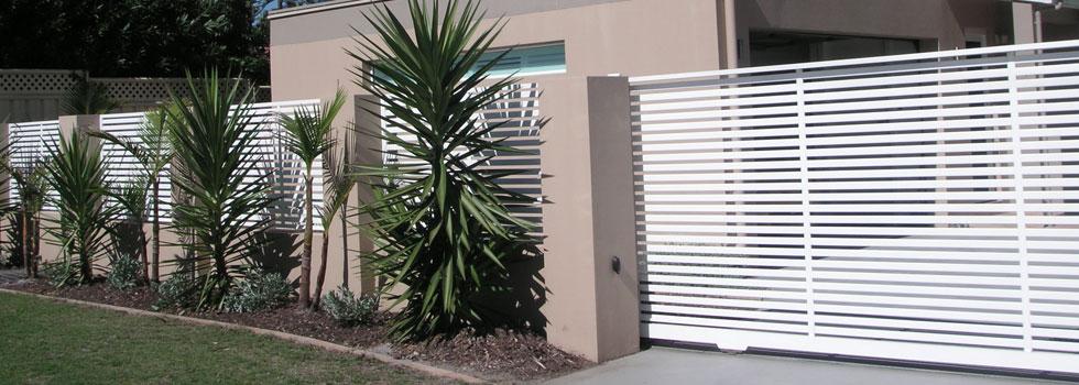 Boundary Fencing Aluminium