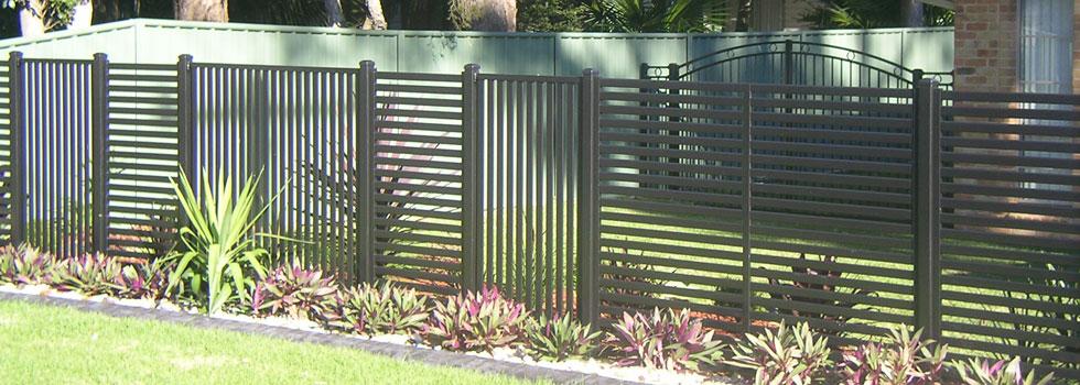 Kwikfynd Boundary fencing aluminium 17