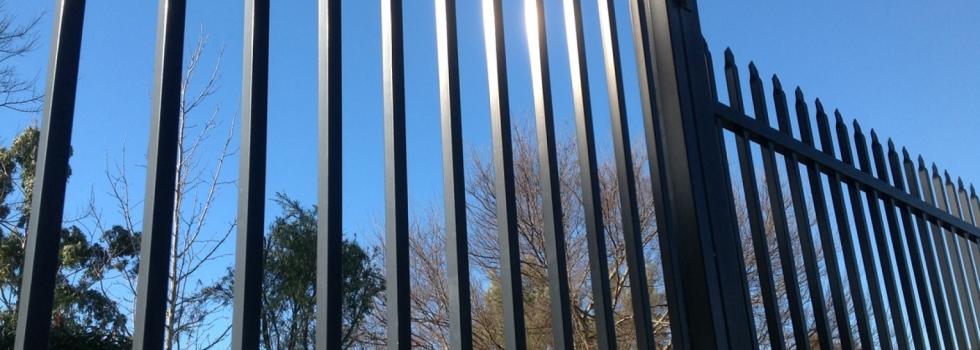Kwikfynd Boundary fencing aluminium 2