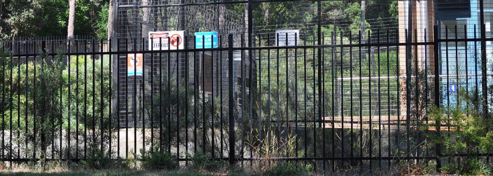 Kwikfynd Boundary fencing aluminium 37