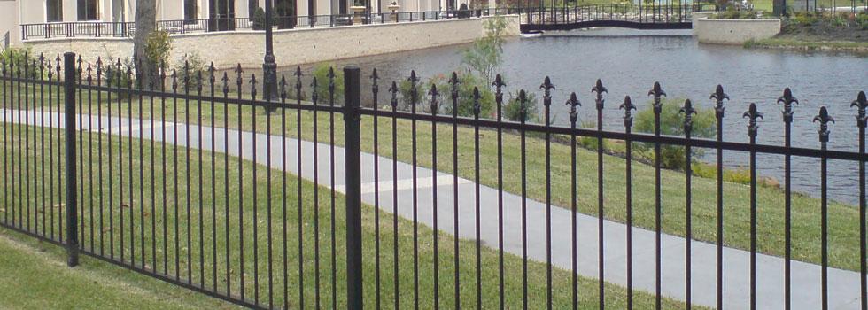 Kwikfynd Boundary fencing aluminium 7