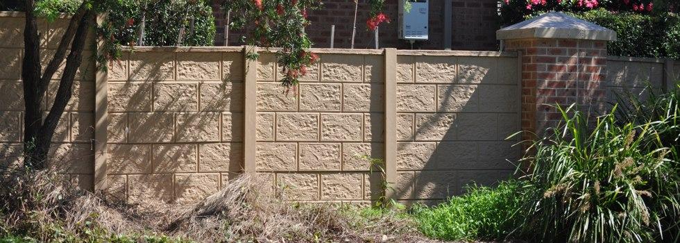 Kwikfynd Brick fencing 20