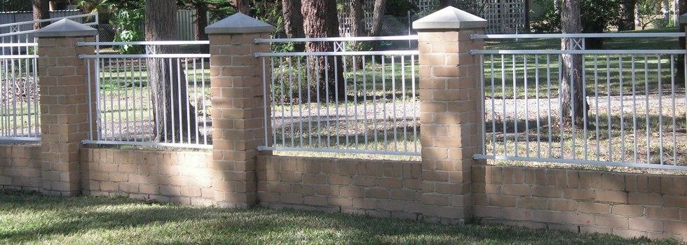 Kwikfynd Brick fencing 5