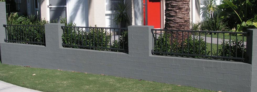 Kwikfynd Brick fencing 7