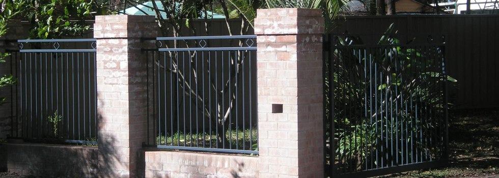 Brick fencing