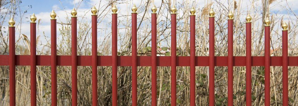 Kwikfynd Decorative fencing 20