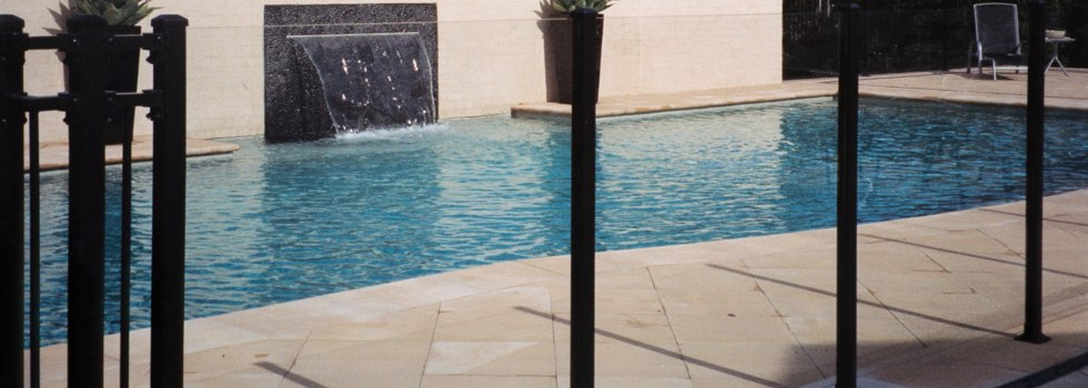 Pool Fencing Frameless glass Agnes