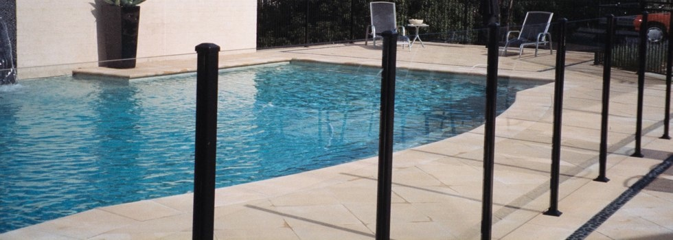 Pool Fencing Frameless glass Afterlee