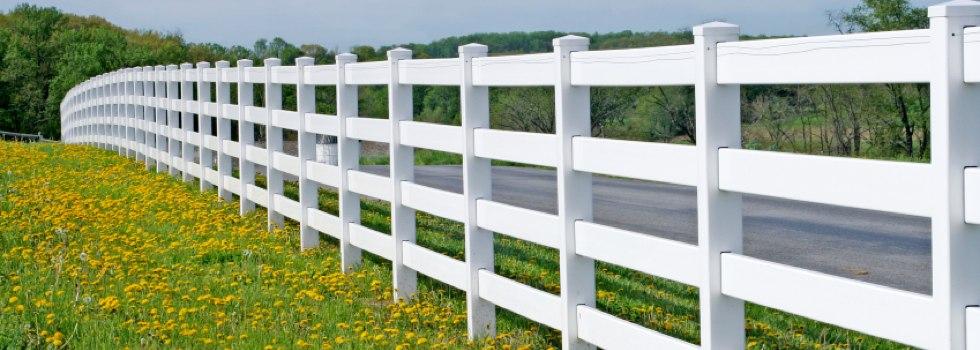 Kwikfynd Pvc fencing 6