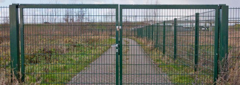 Security fencing 12