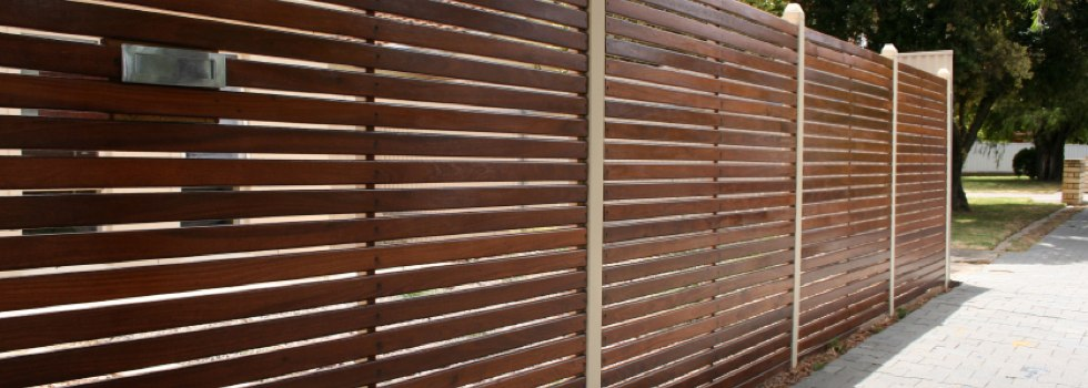 All Hills Fencing Newcastle Slat fencing Argenton