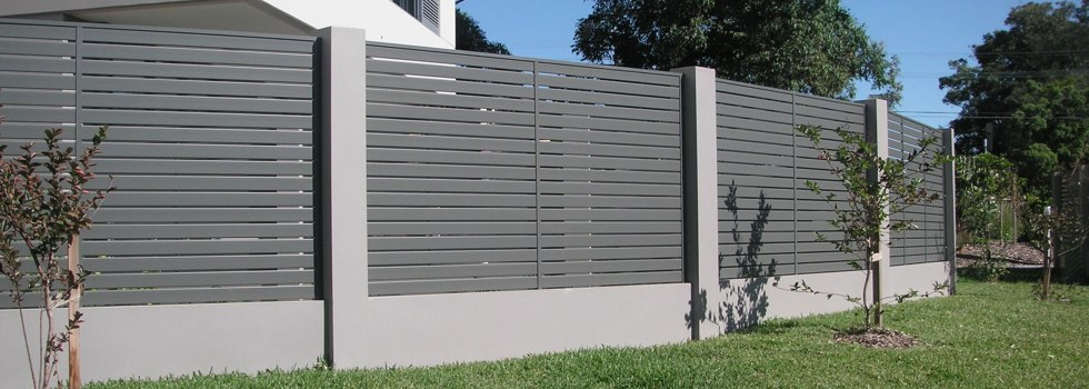 Premium Frameless Glass Slat fencing Adamstown Heights