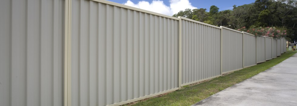 Steel fencing residential commercial industrial fencing contractors kwikfynd - Your guide to metal fence panels for privacy and safety ...