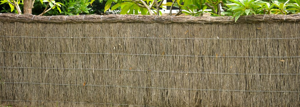 Thatched fencing 6