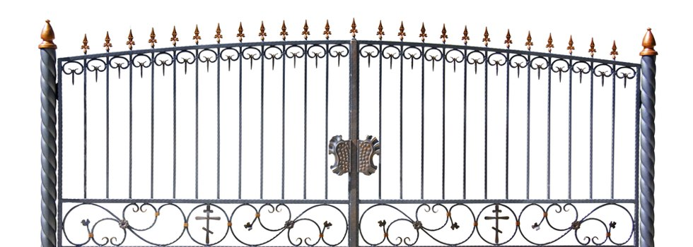 Kwikfynd Wrought iron fencing 10