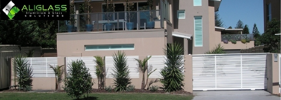 AliGlass Solutions Slat fencing Abbotsford NSW